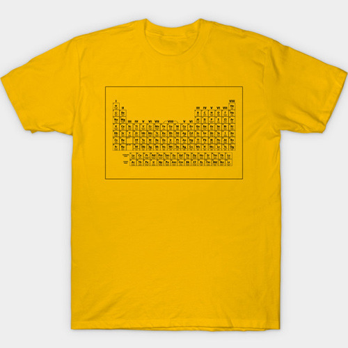 Dustin's Periodic Table T-Shirt