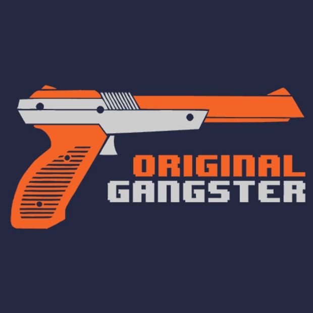 Original Gangster NES Zapper Gun T-Shirt