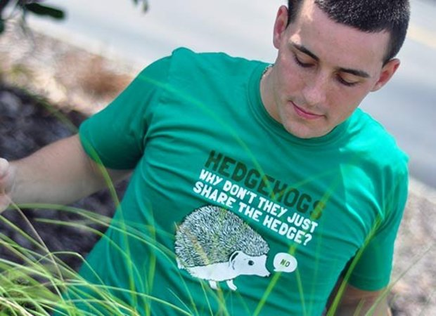 Hedgehogs Don't Share the Hedge T-Shirt