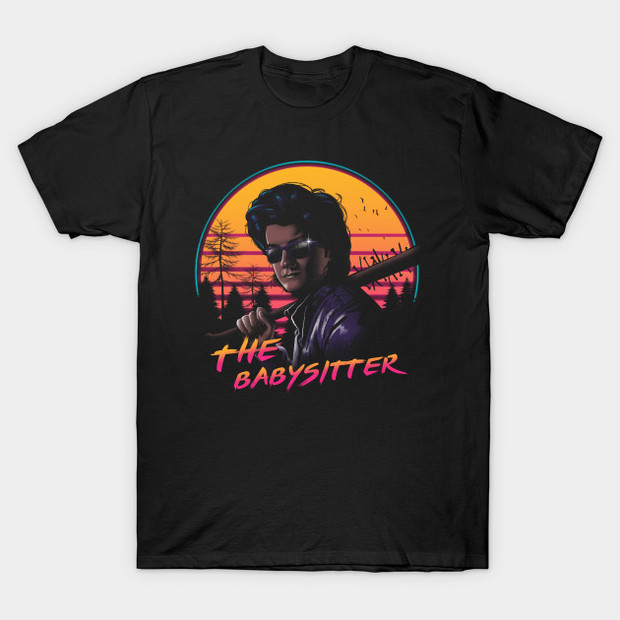 The Babysitter Stranger Things T-Shirt Steve Harrington