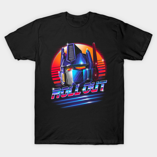 Transformers Optimus Prime Roll Out T-Shirt