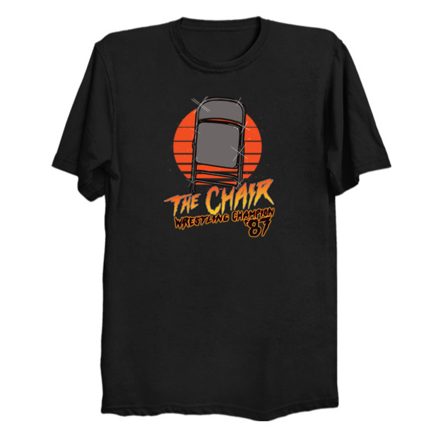 The Chair WWE Wrestling Champion T-Shirt