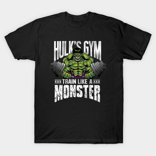 Hulk's Gym Train Like a Monster T-Shirt