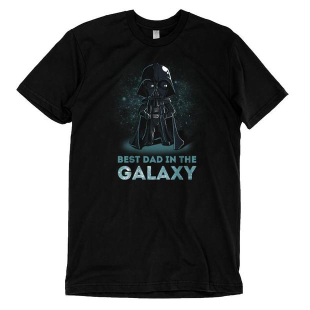 Best Dad in the Galaxy Darth Vader Father's Day T-Shirt