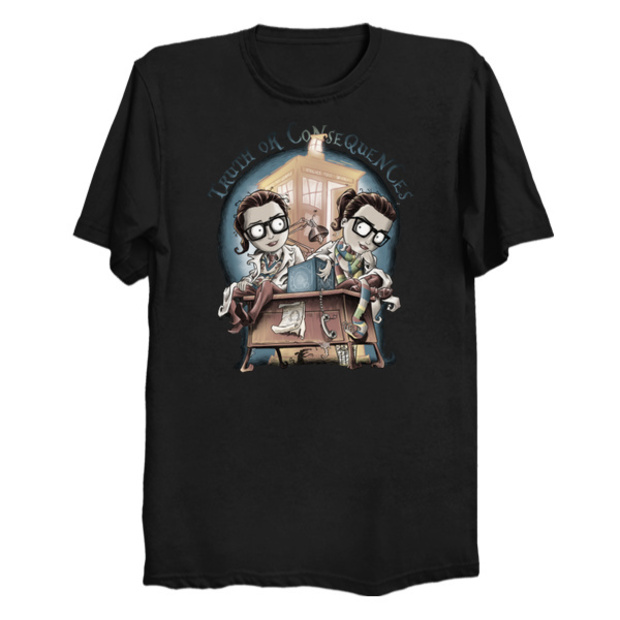 Doctor Who Petronella Osgood T-Shirt Zygon Double
