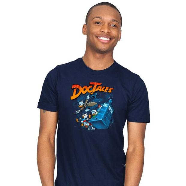 DocTales DuckTales Doctor Who T-Shirt