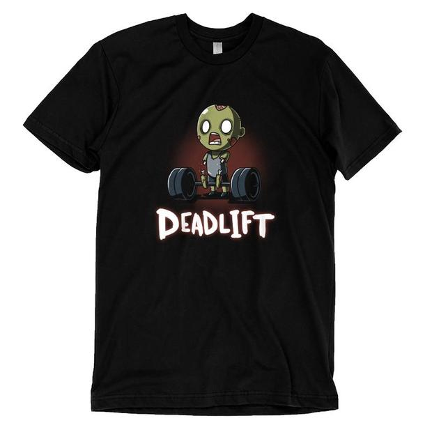 Deadlift Zombie Torn Arms T-Shirt