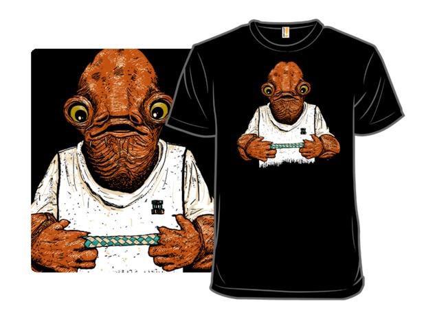 Star Wars Ackbar It's a Trap! Chinese Finger Trap T-Shirt