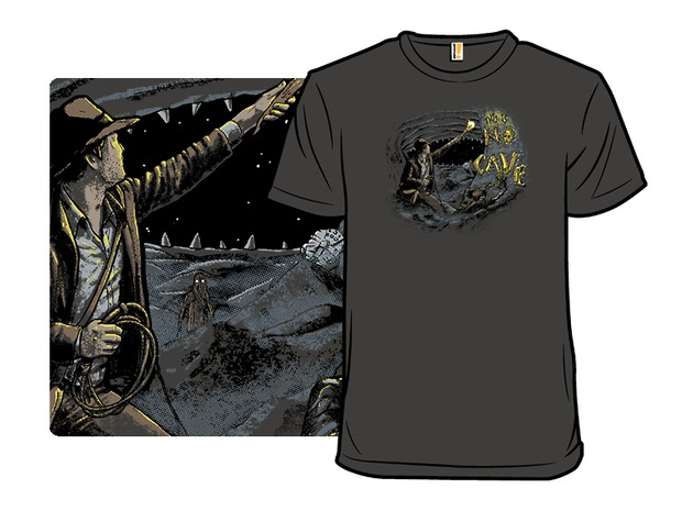 Indiana Jones Star Wars This Is No Cave T-Shirt
