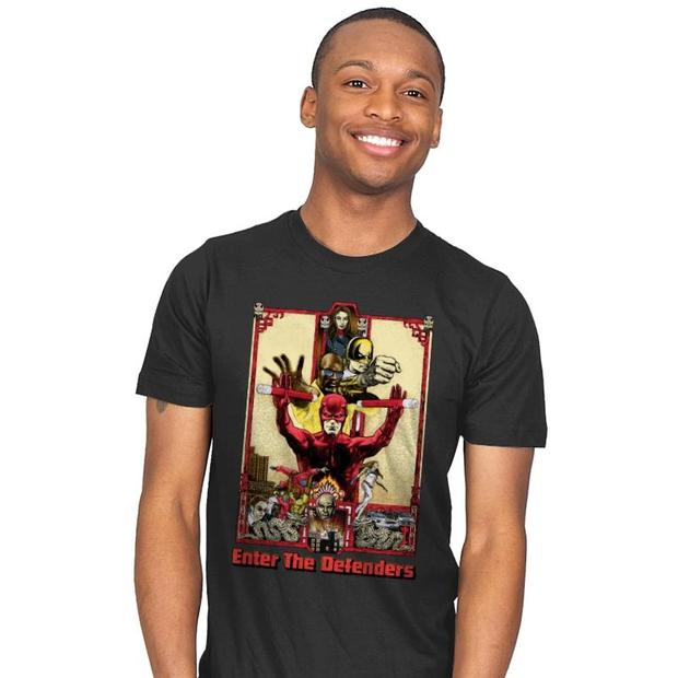 Defenders Enter the Dragon T-Shirt