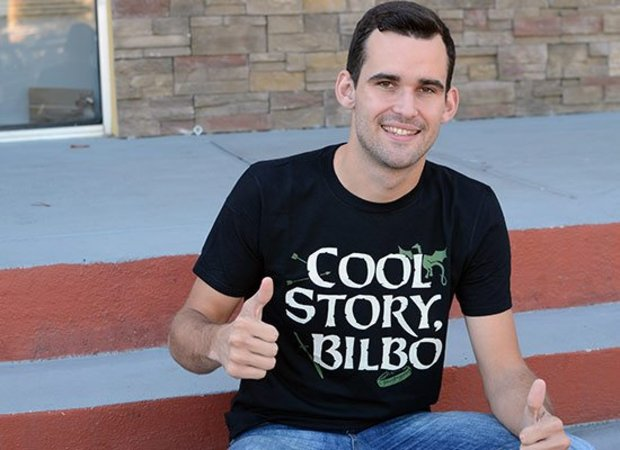 Cool Story Bilbo Lord of the Rings T-Shirt Cool Story Bro