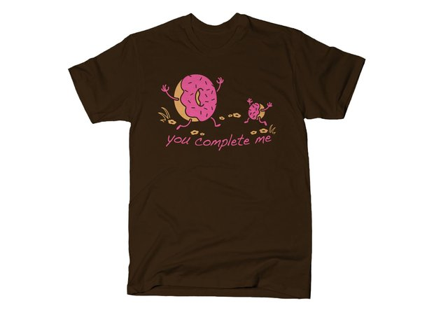 You Complete Me Donut Hole T-Shirt